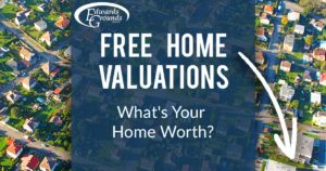 free home valuations banner